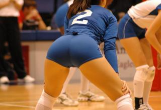 hot college volley ball girls